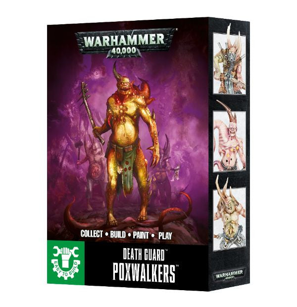 Warhammer 40K Easy To Build: Death Guard Poxwalkers