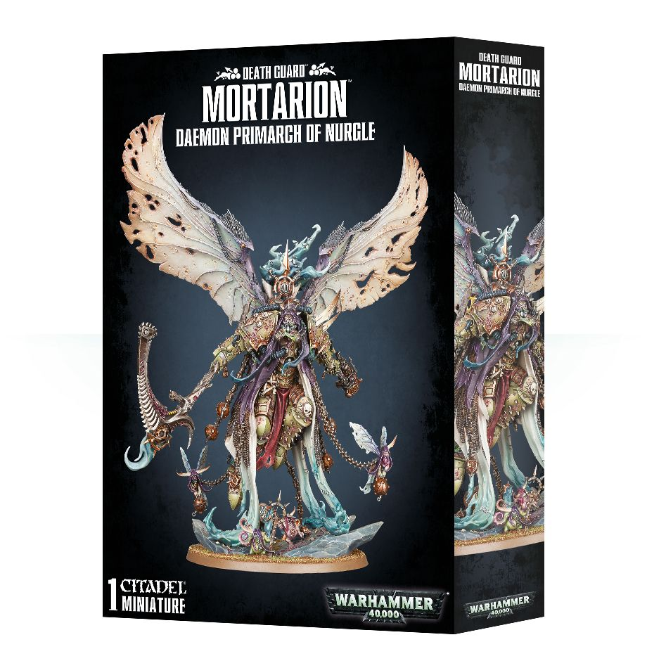 Warhammer 40K Mortarion, Daemon Primarch of Nurgle