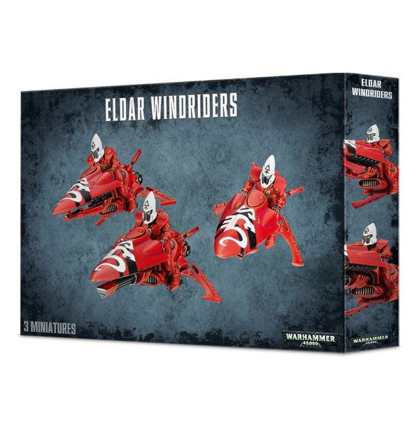 Warhammer 40K Craftworlds Windriders/Black Guardian Windriders