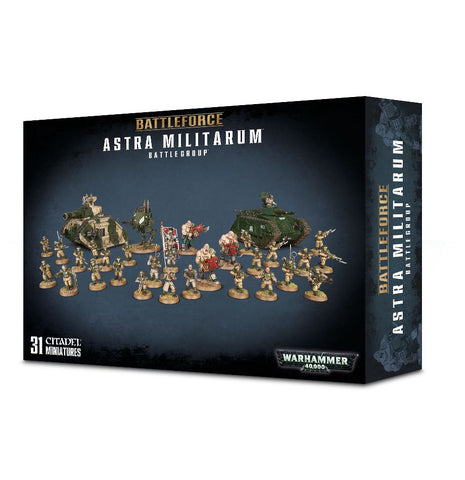 Warhammer 40K Battleforce Astra Militarum Battlegroup