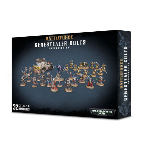 Warhammer 40K Battleforce Genestealer Cults Insurrection
