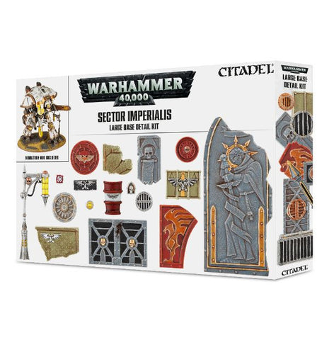 Warhammer 40K Sector Imperialis Large Base Detail Kit