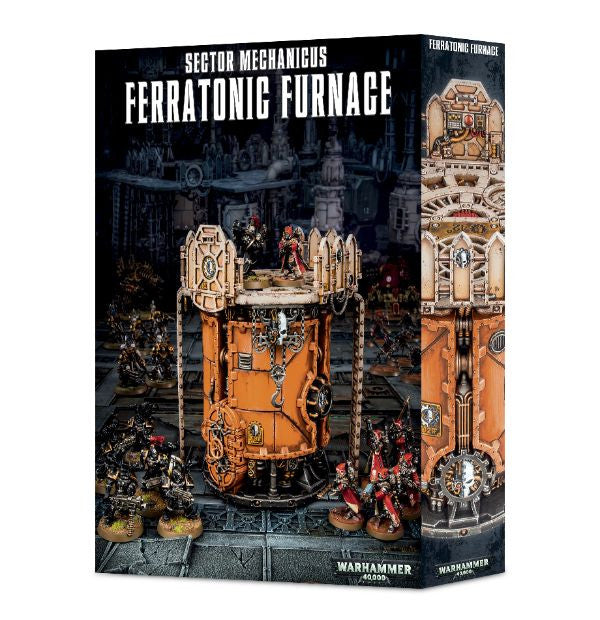 Warhammer 40K Sector Mechanicus Ferratonic Furnace