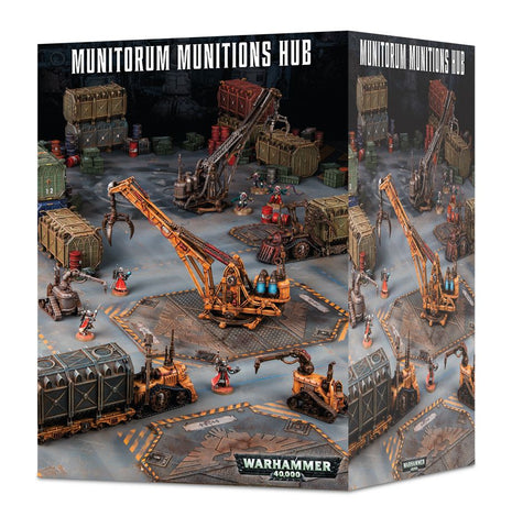 Warhammer 40K Sector Mechanicus Munitorum Munitions Hub