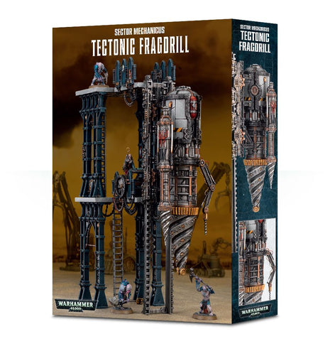 Warhammer 40K Genestealer Cults Tectonic Fragdrill