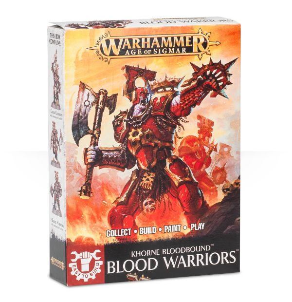 Warhammer Age of Sigmar Easy to Build: Blood Warriors