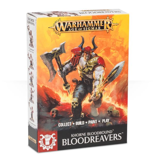 Warhammer Age Of Sigmar Easy to Build: Bloodreavers
