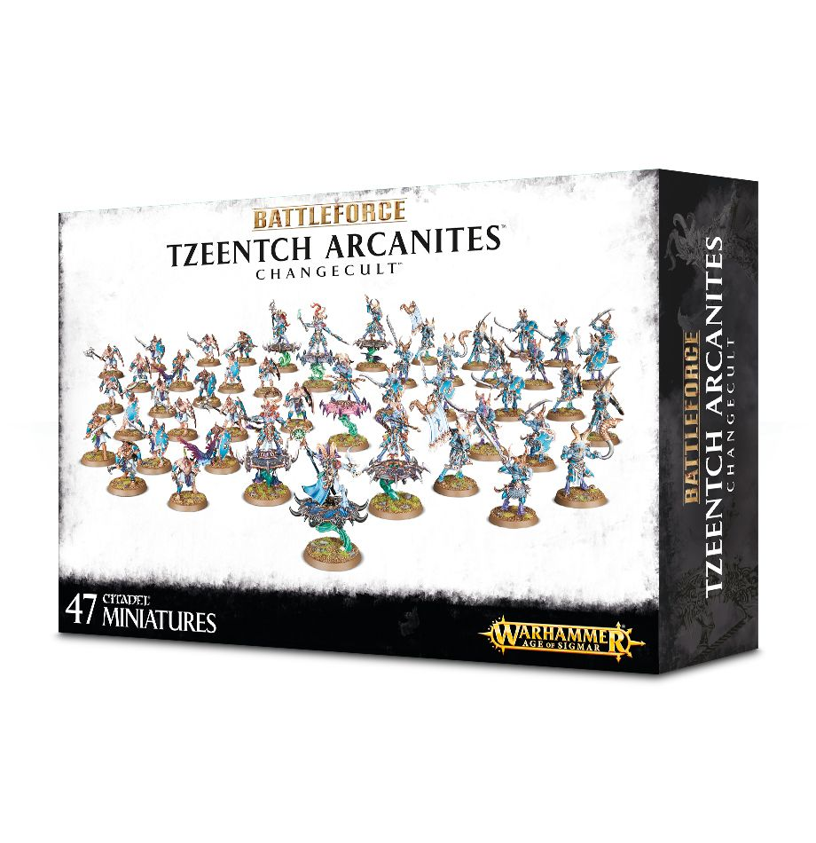 Warhammer Age Of Sigmar Battleforce - Tzeentch Arcanites Changecult