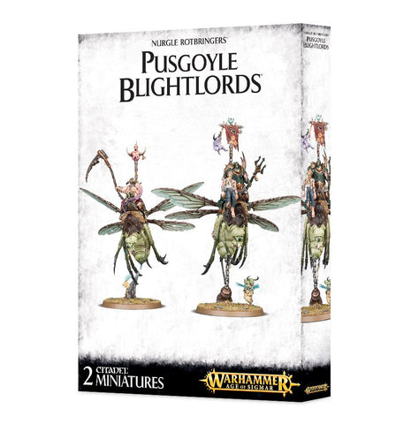 Warhammer Age Of Sigmar Pusgoyle Blightlords / Lord of Afflictions