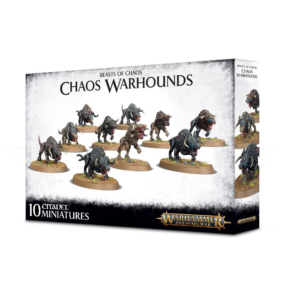 Warhammer Age Of Sigmar Chaos Warhounds