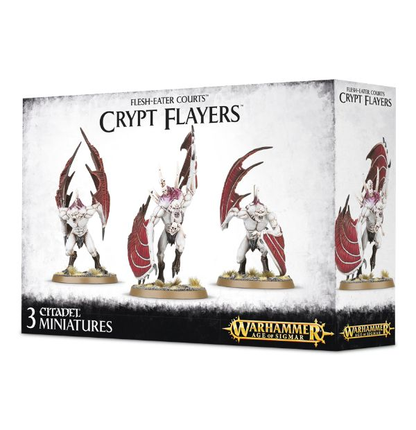 Warhammer Age Of Sigmar Vargheists/Crypt Flayers/Horrors.