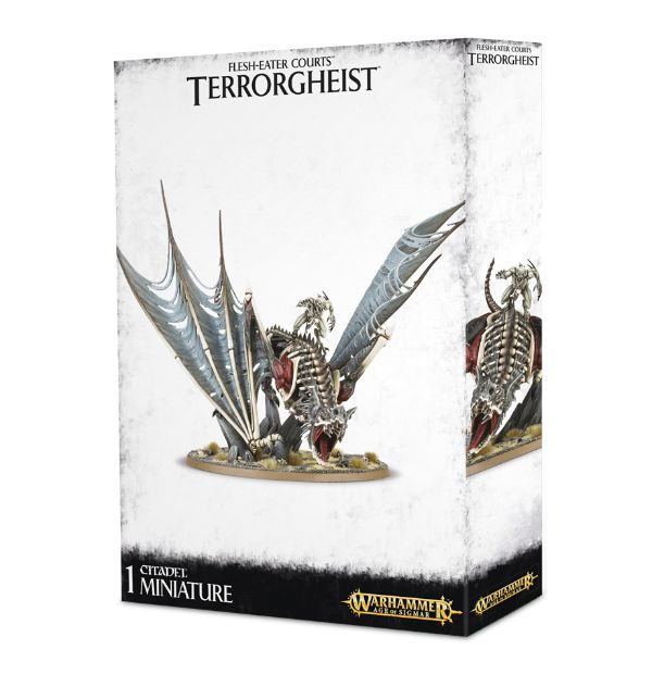Warhammer Age Of Sigmar Terrorgheist / Zombie Dragon / Abhorrent Ghoul King on Terrorgheist / Vampire Lord on Zombie Dragon