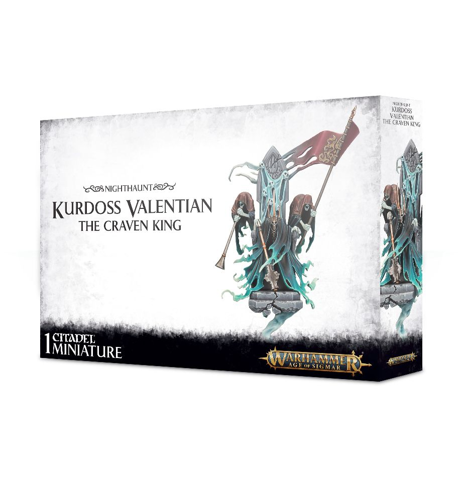 Warhammer Age Of Sigmar Kurdoss Valentian, The Craven King