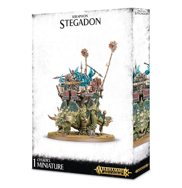 Warhammer Age Of Sigmar Engine Of The Gods / Stegadon