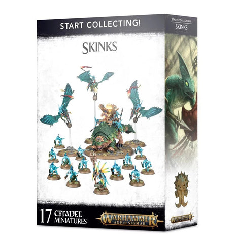 Warhammer Age of Sigmar Start Collecting! Skinks