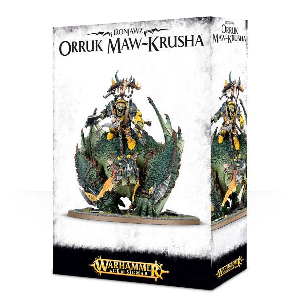 Warhammer Age of Sigmar Megaboss on Maw-krusha / Gordrakk, the Fist of Gork