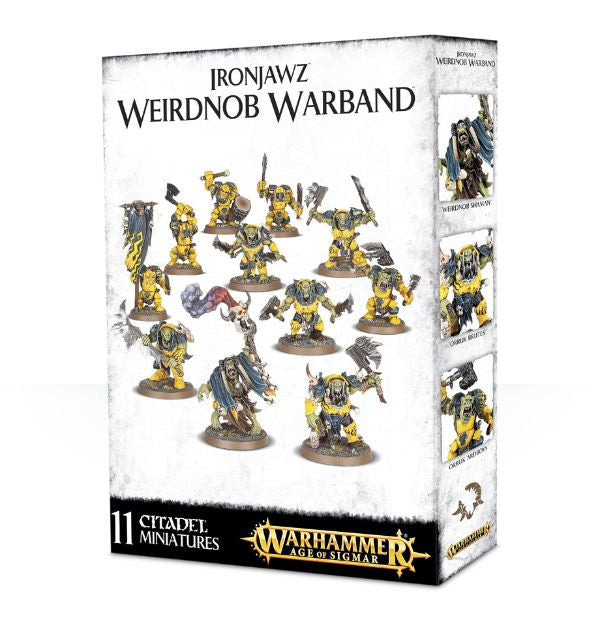Warhammer Age of Sigmar: Skirmish Ironjawz Weirdnob Warband