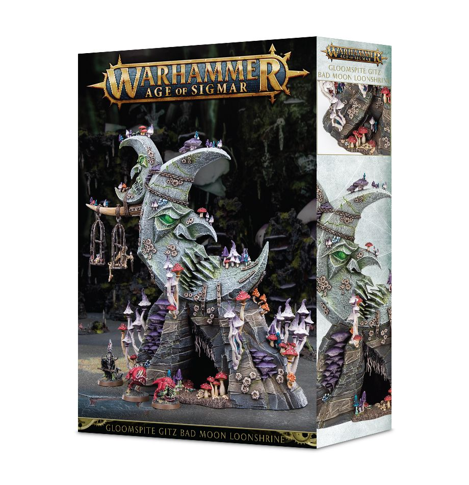 Warhammer Age of Sigmar Bad Moon Loonshrine
