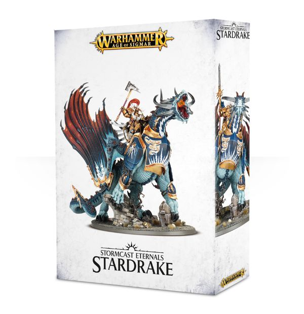 Warhammer Age Of Sigmar Lord-Celestant on Stardrake