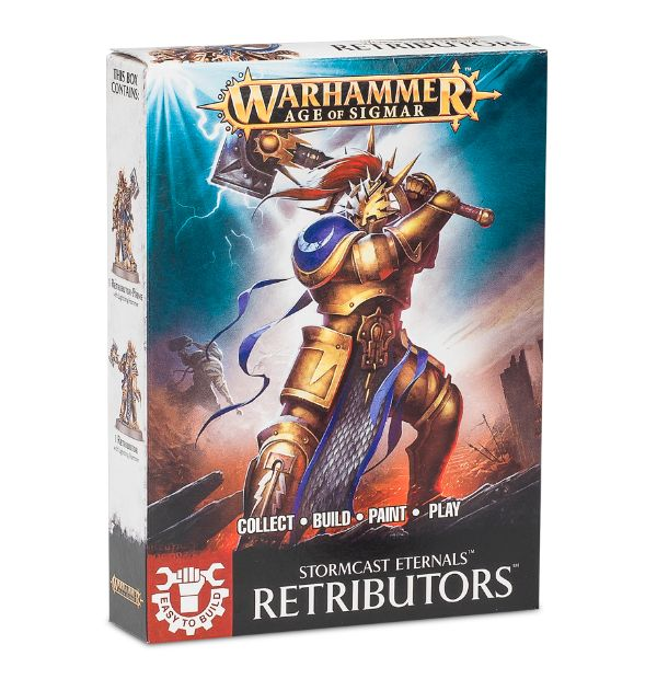 Warhammer Age Of Sigmar Easy to Build: Retributors