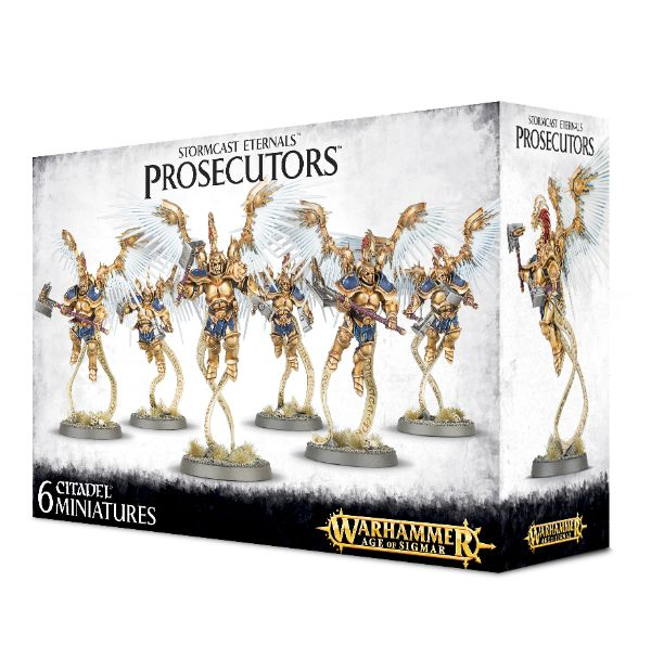 Warhammer Age Of Sigmar Prosecutors with Celestial Hammers / Prosecutors with Stormcall Javelins