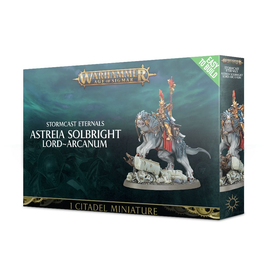 Warhammer Age of Sigmar Easy to Build: Astreia Solbright, Lord-Arcanum