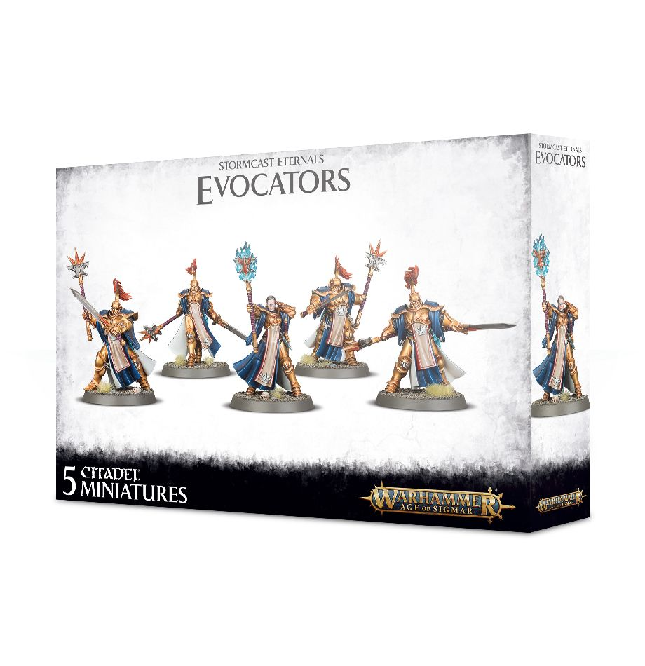 Warhammer Age of Sigmar Stormcast Eternals Evocators on Celestial Dracolines