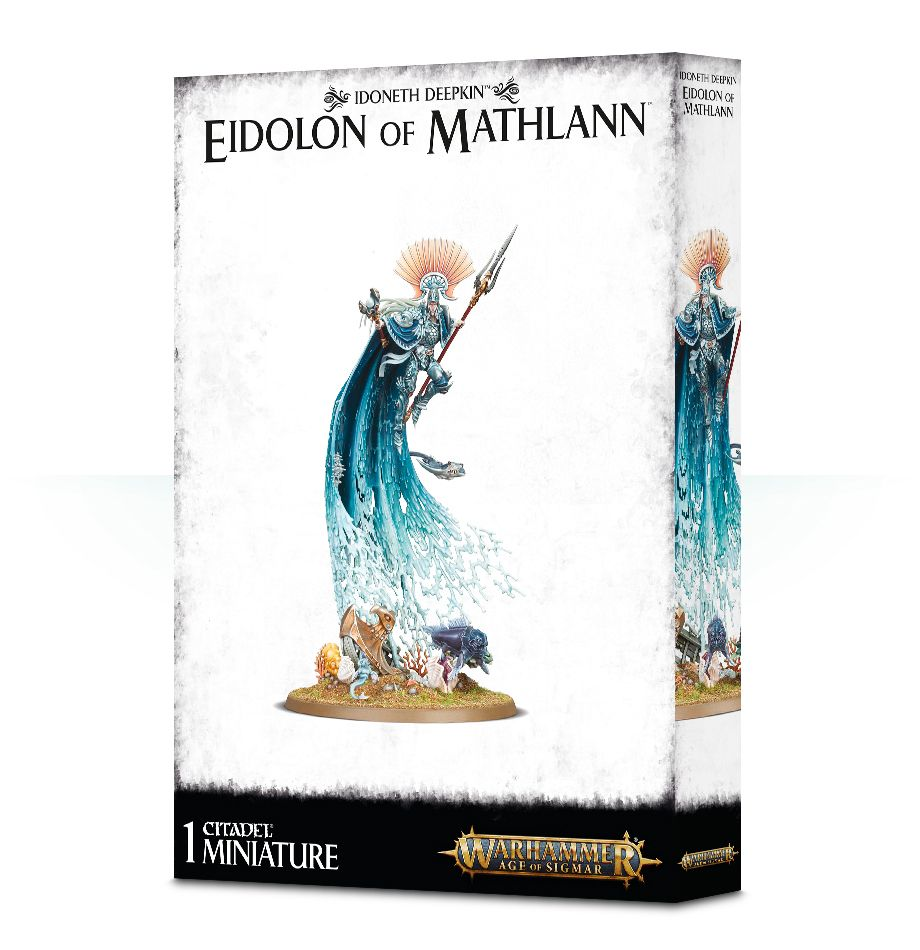 Warhammer Age Of Sigmar Eidolon of Mathlann – Aspect of the Storm / Sea