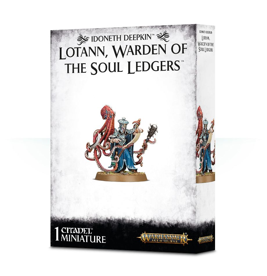 Warhammer Age Of Sigmar Lotann, Warden of the Soul Ledgers