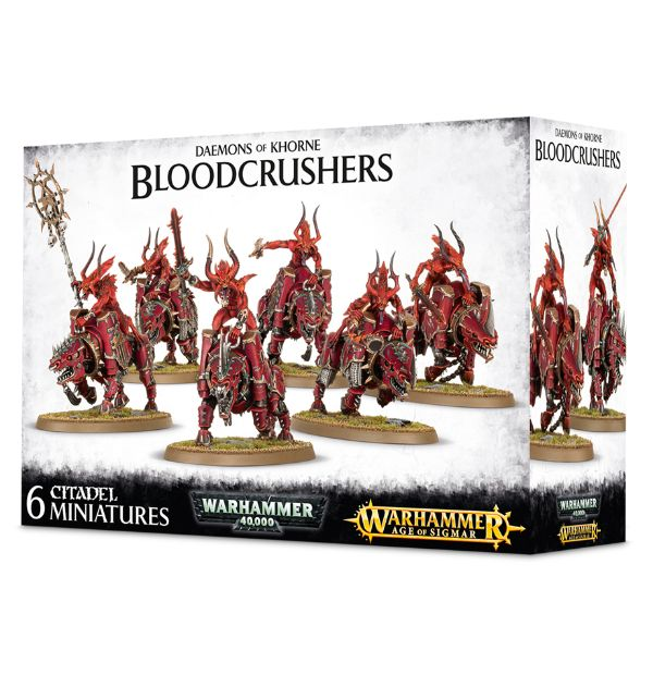 Warhammer Age of Sigmar Daemons Of Khorne Bloodcrushers