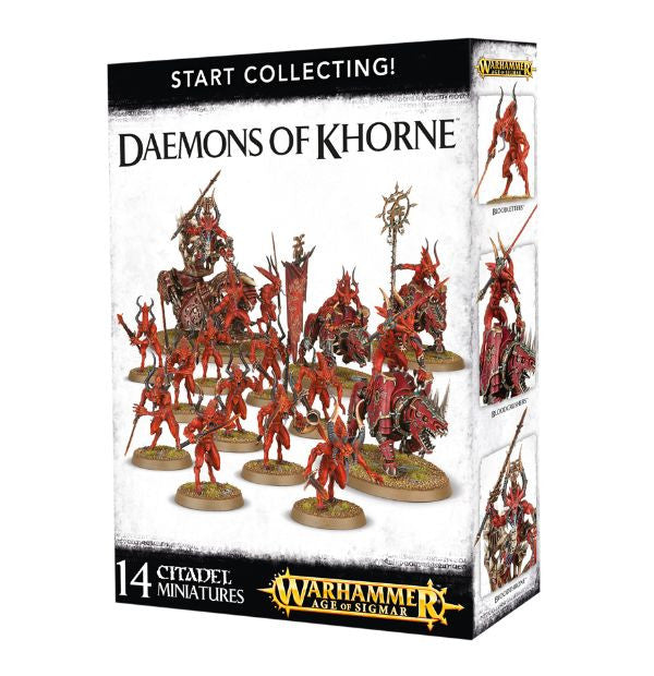 Warhammer Age of Sigmar Start Collecting! Daemons of Khorne