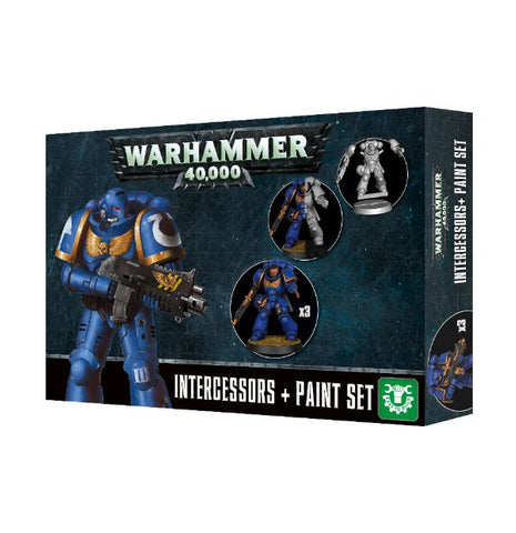 Warhammer 40K Intercessors + Paints Set