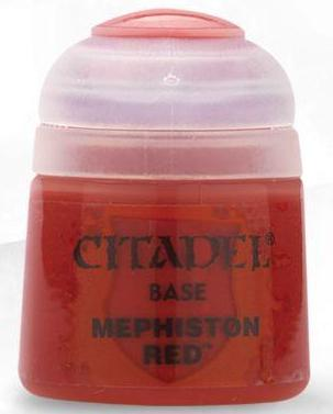 Citadel Paints - Mephiston Red