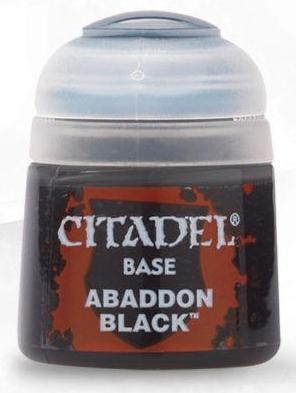 Citadel Paints - Abaddon Black