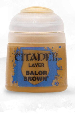 Citadel Paints - Balor Brown