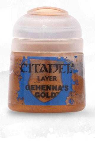 Citadel Paints - Gehenna's Gold