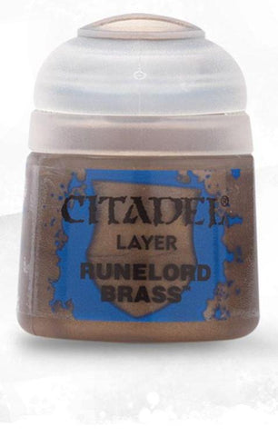 Citadel Paints - Runelord Brass