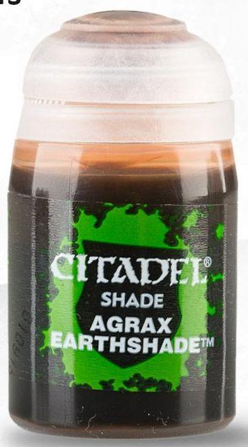 Citadel Paints - Agrax Earthshade