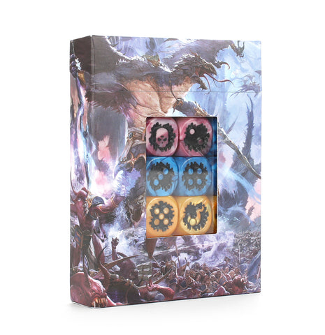 Warhammer Age Of Sigmar Disciples of Tzeentch Dice