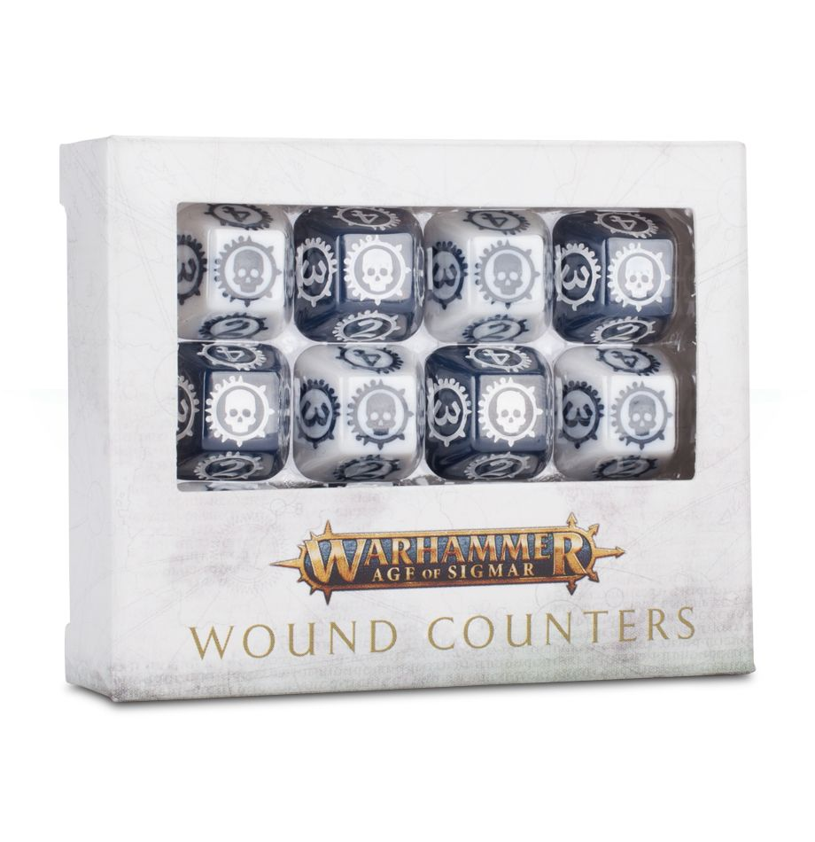 Warhammer Age of Sigmar Wound Counters