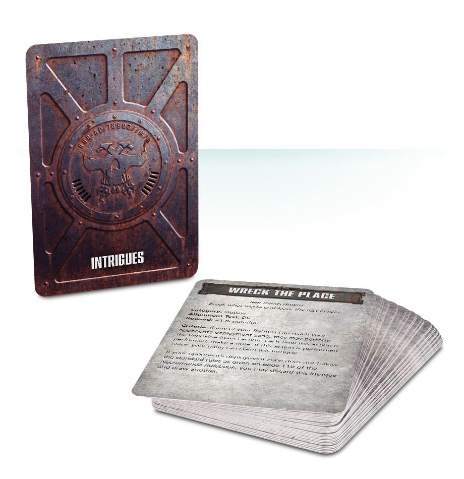 Necromunda: Intrigues & Rackets Card Pack