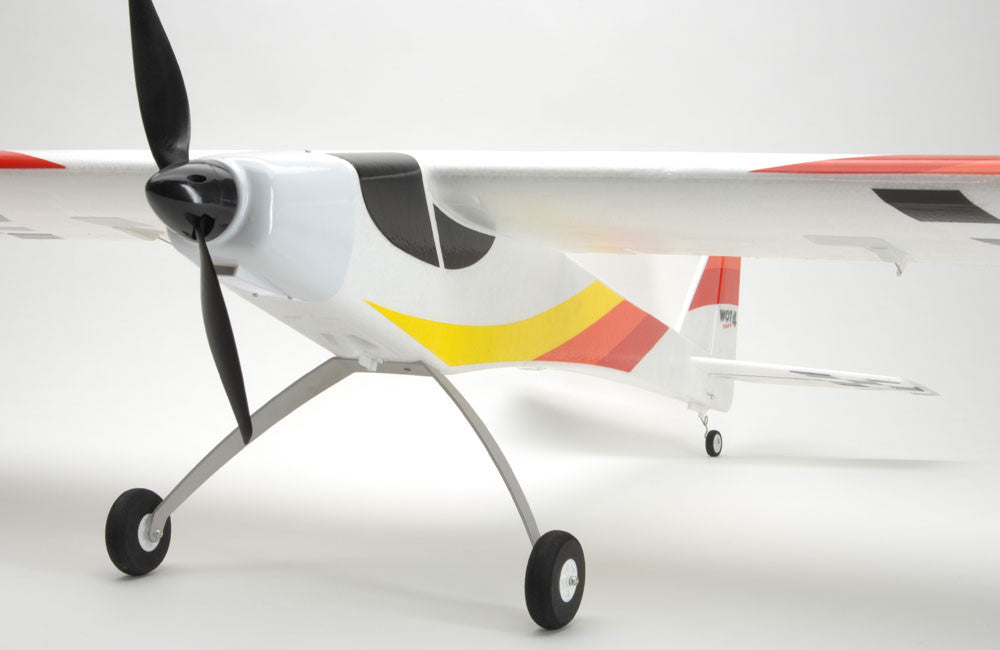 Wot4 Foam E MK2+ front view showing propellor