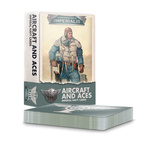 Aeronautica lmperialis Aircraft and Aces Imperial Navy Cards
