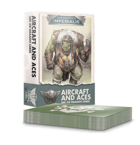 Aeronautica Imperialis Aircraft and Aces Ork Air Waaagh! Cards