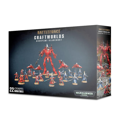 Warhammer 40K Battle Force Craftworlds Asuryani Bladehost