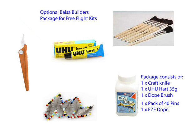West Wings Wingleader Hurricane Balsa Kit