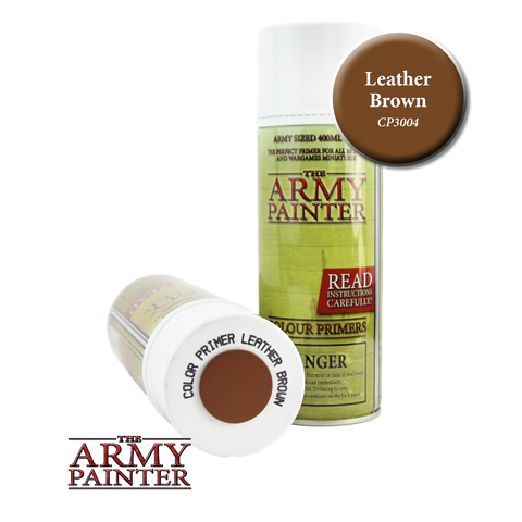 Leather Brown color primer spray