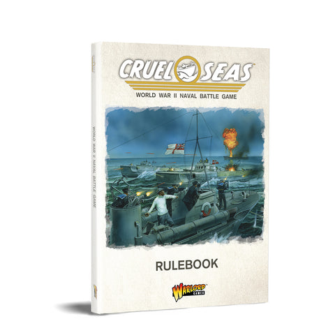 Cruel Seas Rulesbook (Softback)