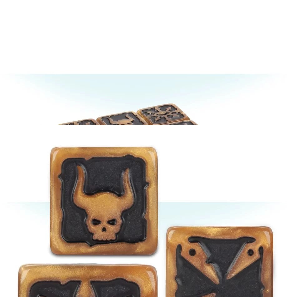 Warhammer 40K Chaos Space Marines Dice