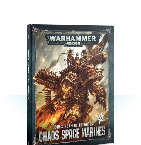 Warhammer 40K Codex: Chaos Space Marines 2019